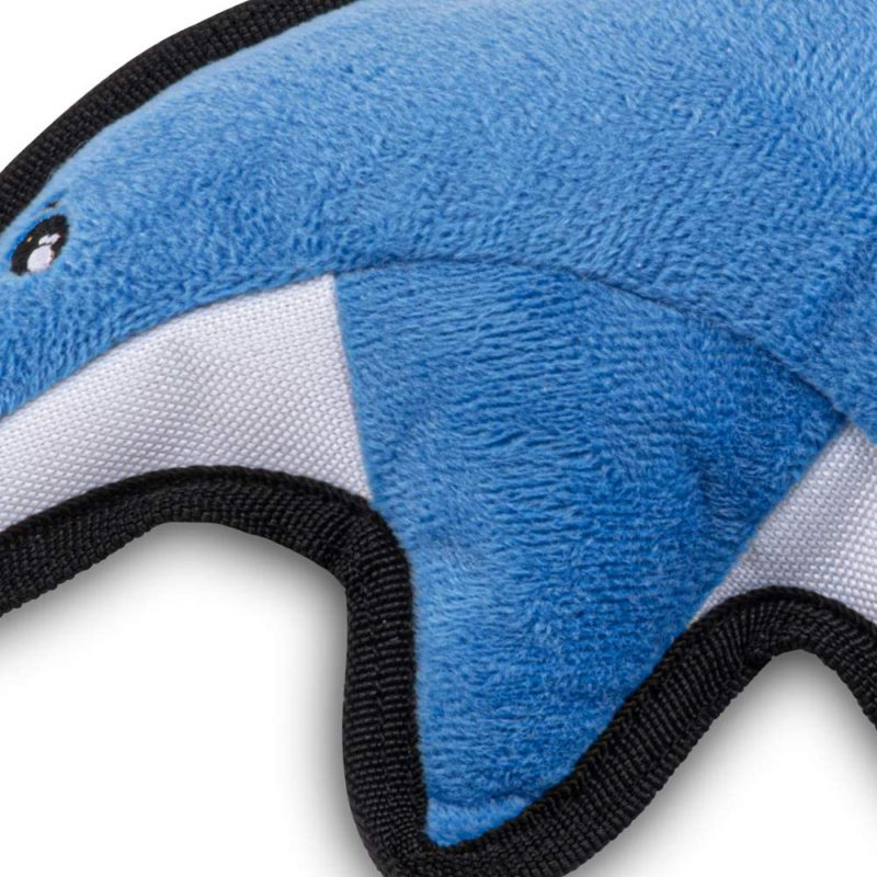 Beco Pets Rough & Tough Dolphin Recycled Dog Toy