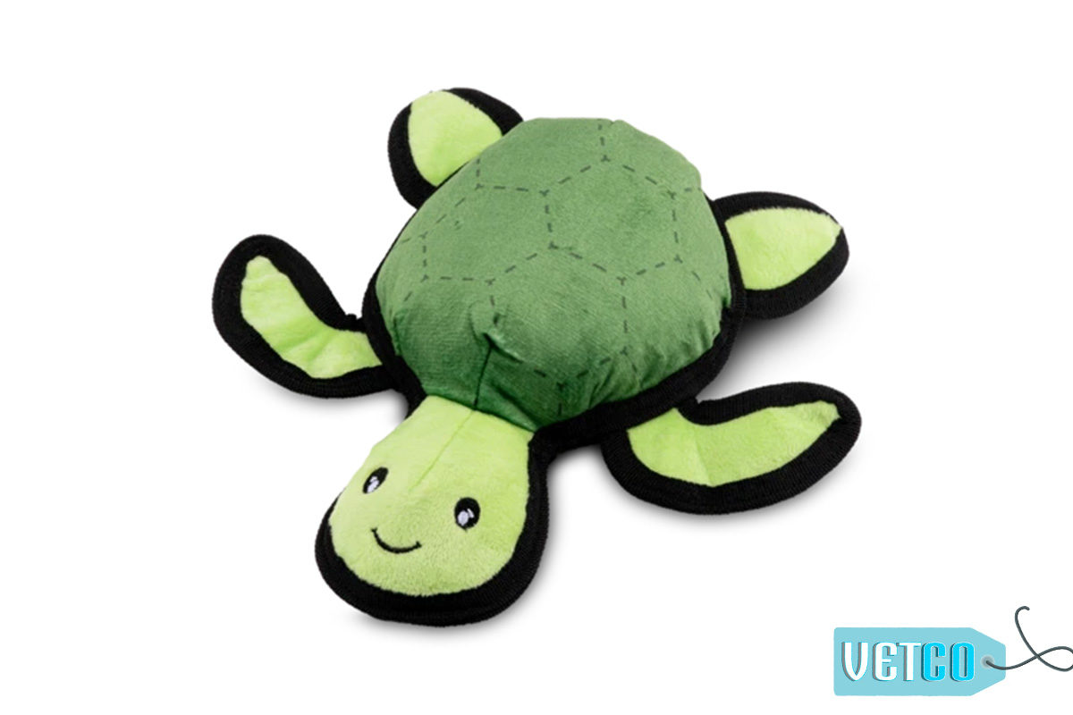 Beco Pets Rough & Tough Turtle Recycled Dog Toy