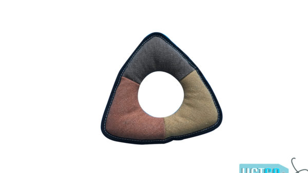 Nutrapet Frisbee Ring Jute Dog Toy
