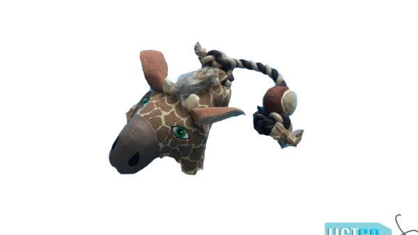 Nutrapet Ropey Giraffe Jute Dog Toy