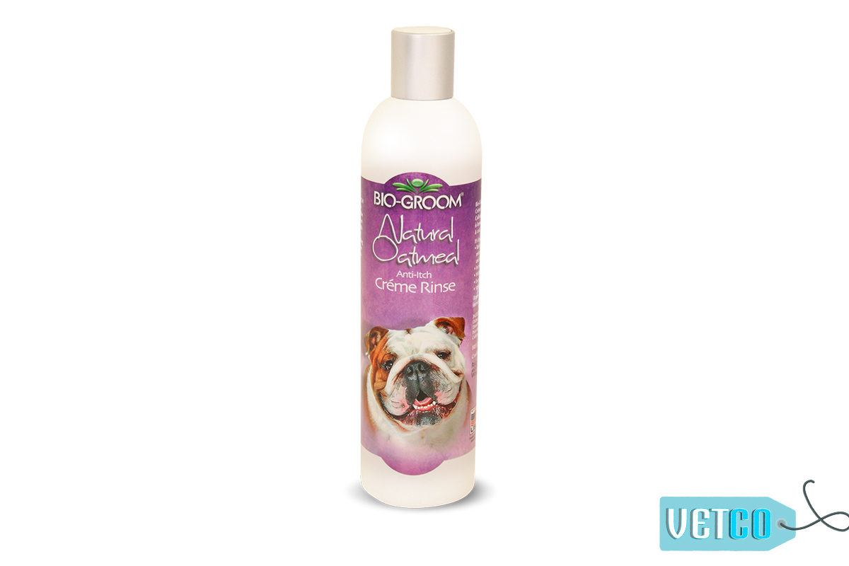 Bio-Groom Natural Oatmeal Anti-Itch Creme Rinse Conditioner, 355 ml