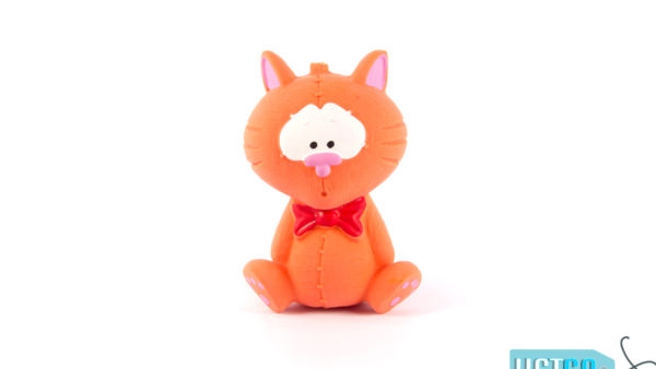 FOFOS Bi Toy Cat Latex Dog Toy – Small