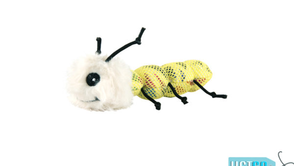 FOFOS Blocky Meow Worm Cat Toy