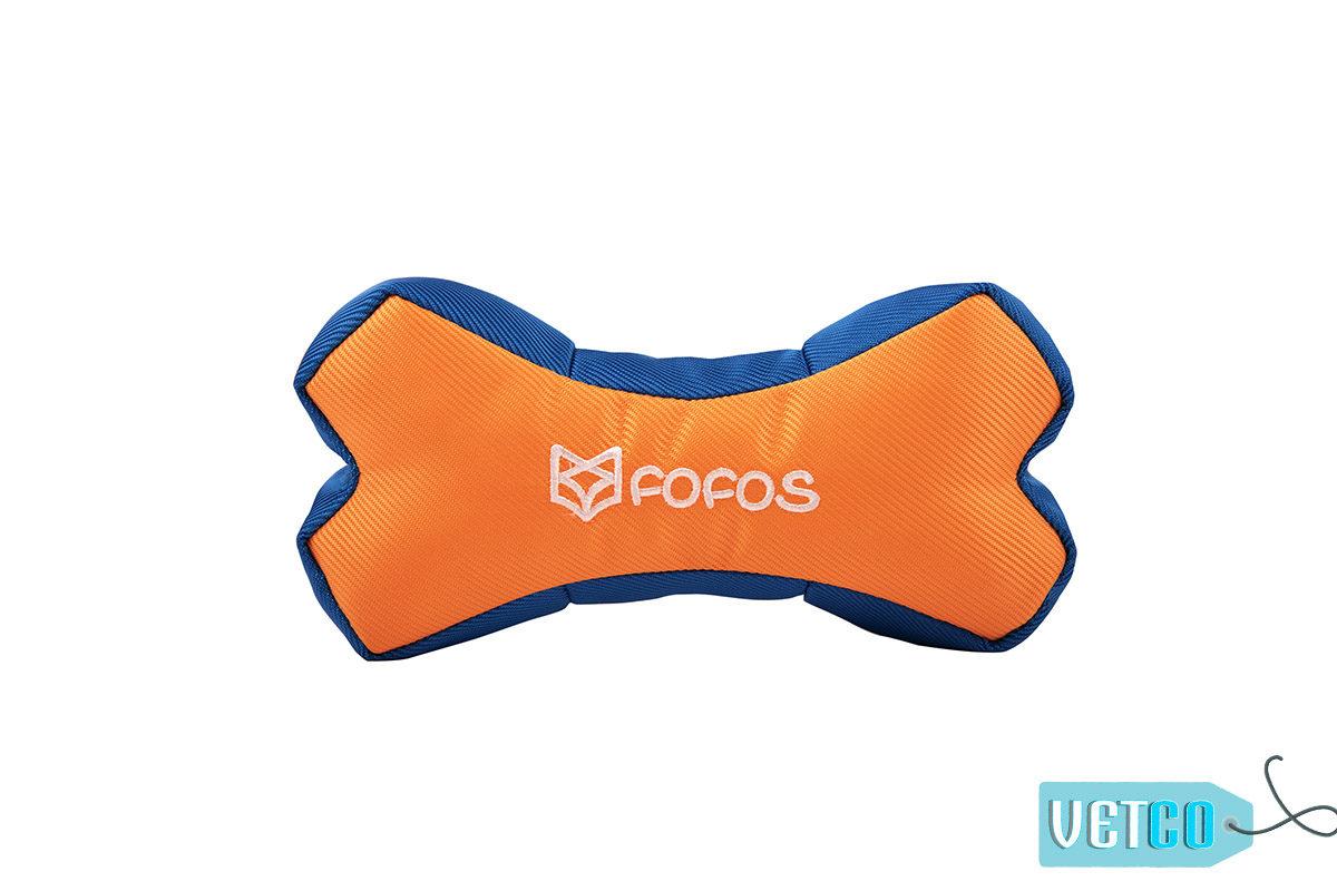 FOFOS Born Wild Bone Orange Dog Toy1