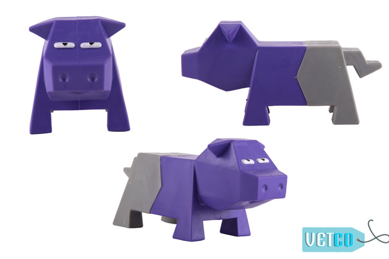 FOFOS Comic Farm Pig Dog Toy