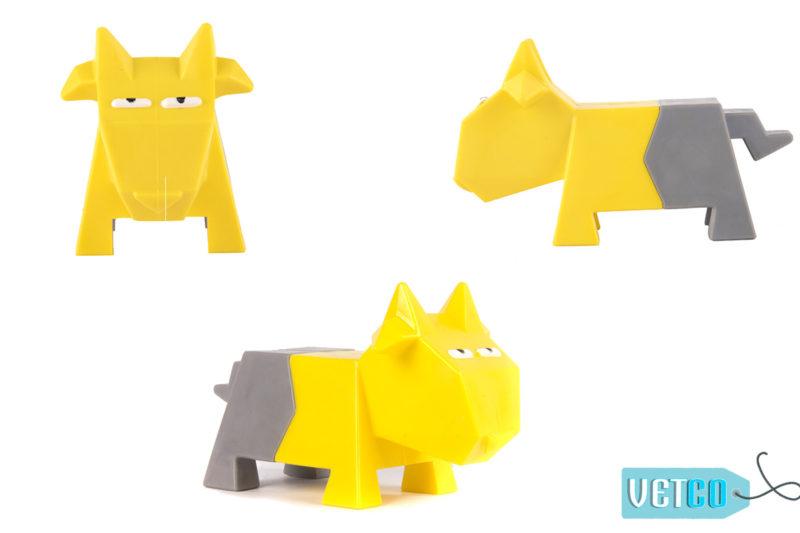 FOFOS Comic Farm Sheep Dog Toy
