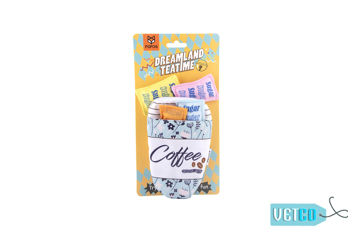FOFOS Dreamland Coffee Toy Pack Cat Toy