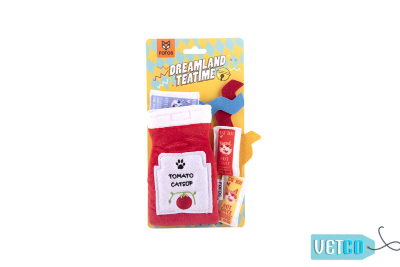 FOFOS Dreamland Teatime Toy Pack Cat Toy