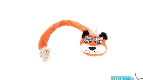 FOFOS Forest Eye Mouse Rope Dog Toy