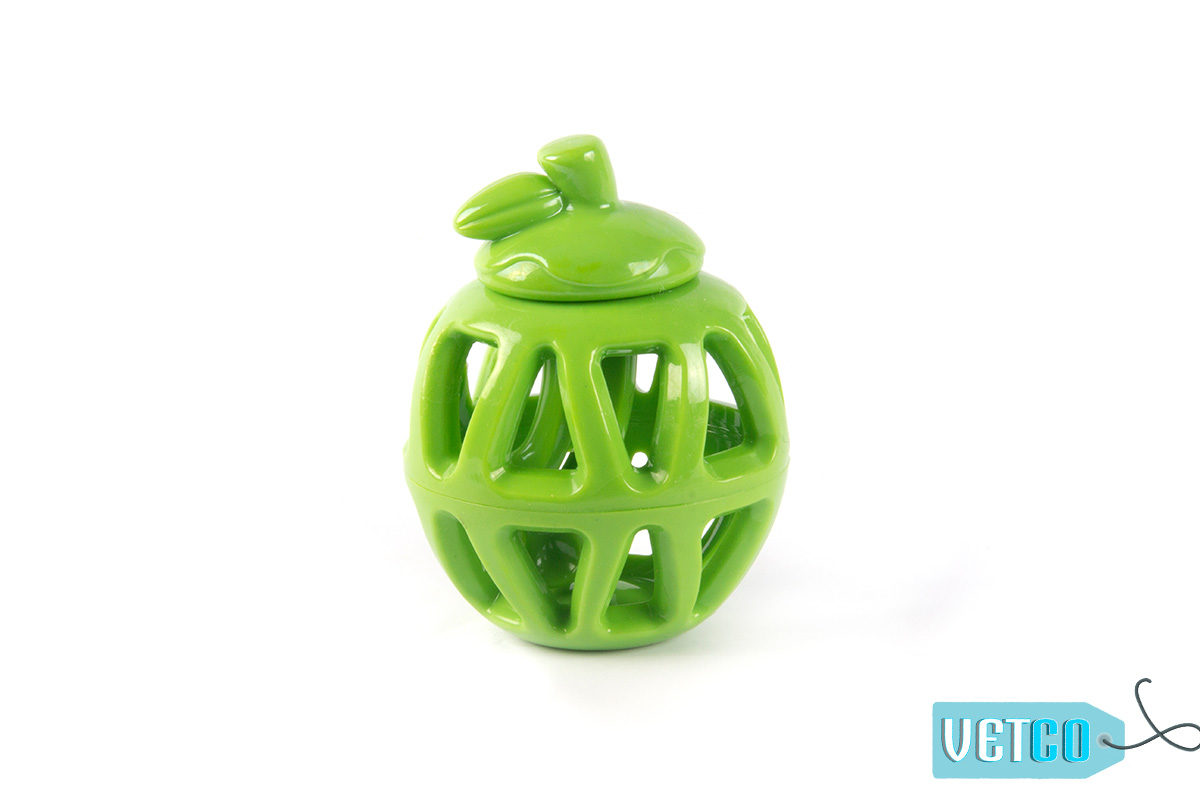FOFOS Fruity-Bites Treat Dispensing Apple Dog Toy