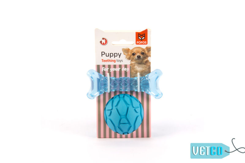 FOFOS Milk Bone & Ball Dog Toy – Blue