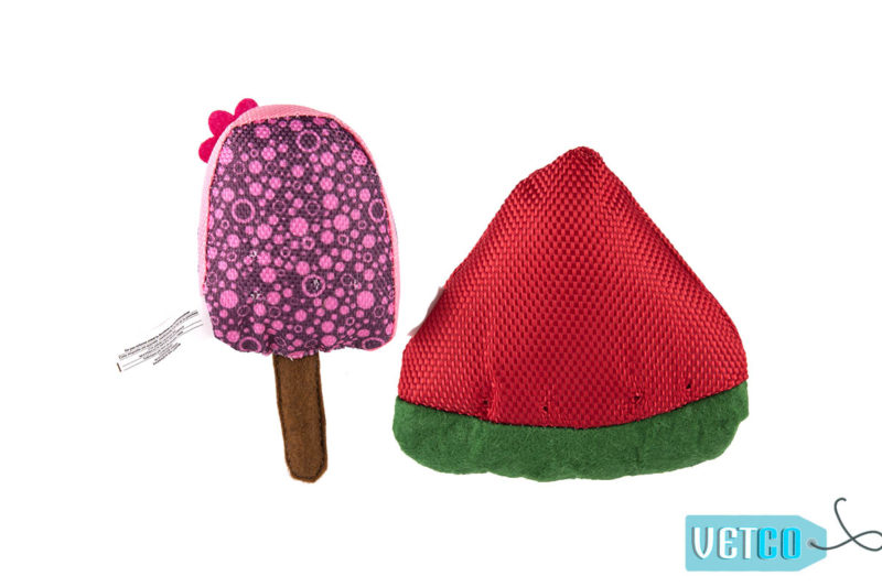 FOFOS Summer Watermelon with Popsicle Cat Toy