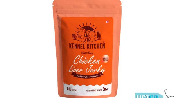 Kennel Kitchen Chicken Liver Jerky Dog & Cat Treats, 80 gms