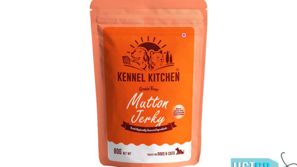 Kennel Kitchen Mutton Jerky Dog & Cat Treats, 80 gms