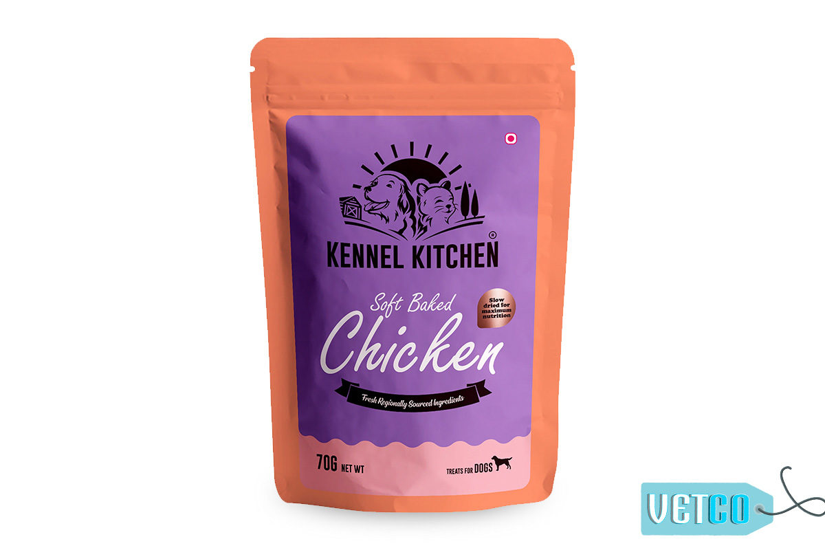 Kennel Kitchen Soft Baked Chicken Stick Dog Treats, 70 gms