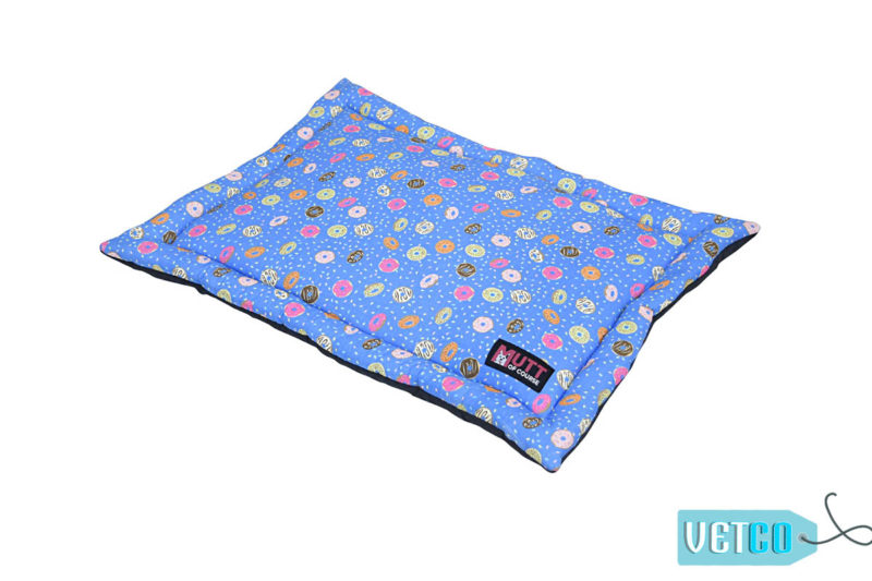 Mutt of Course Mat Over Donuts Mat for Cats and Dogs
