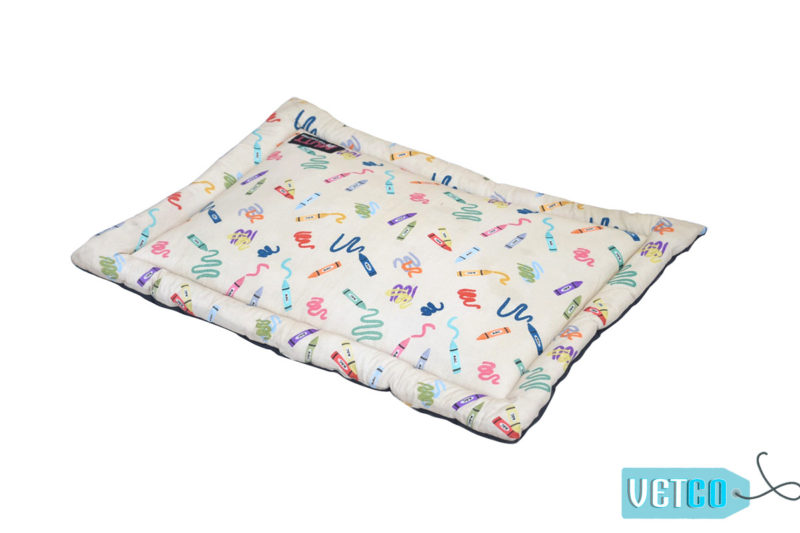 Mutt of Course Woofy Colours Mat for Cats and Dogs