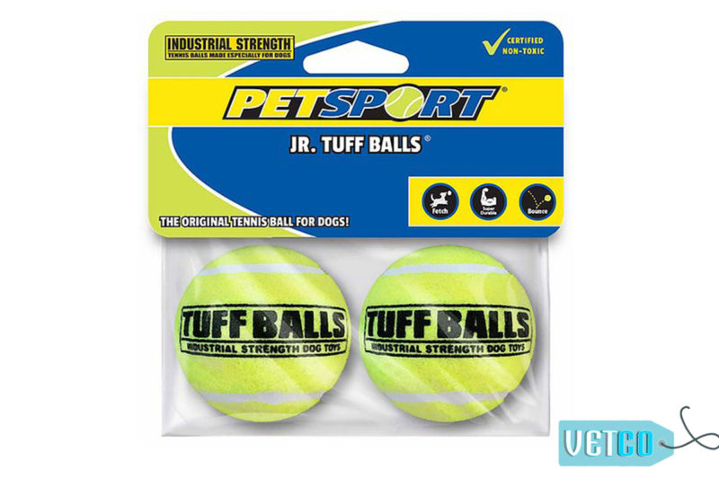 Petsport JrTuff Ball Dog Toy 2 Pack