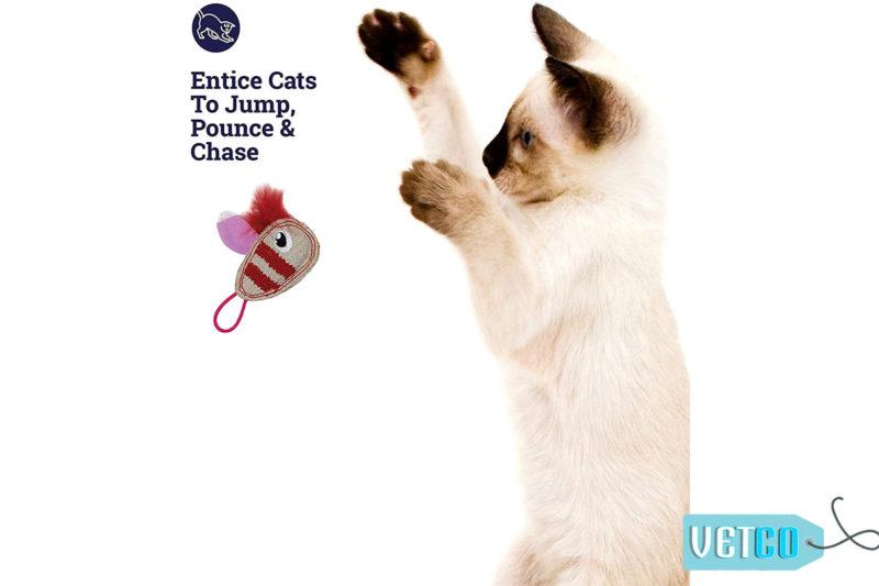 Petstages Bumble Bee Flinger Cat Toy