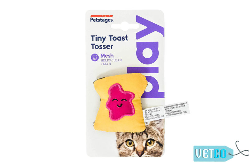 Petstages Tiny Toast Tosser Cat Toy