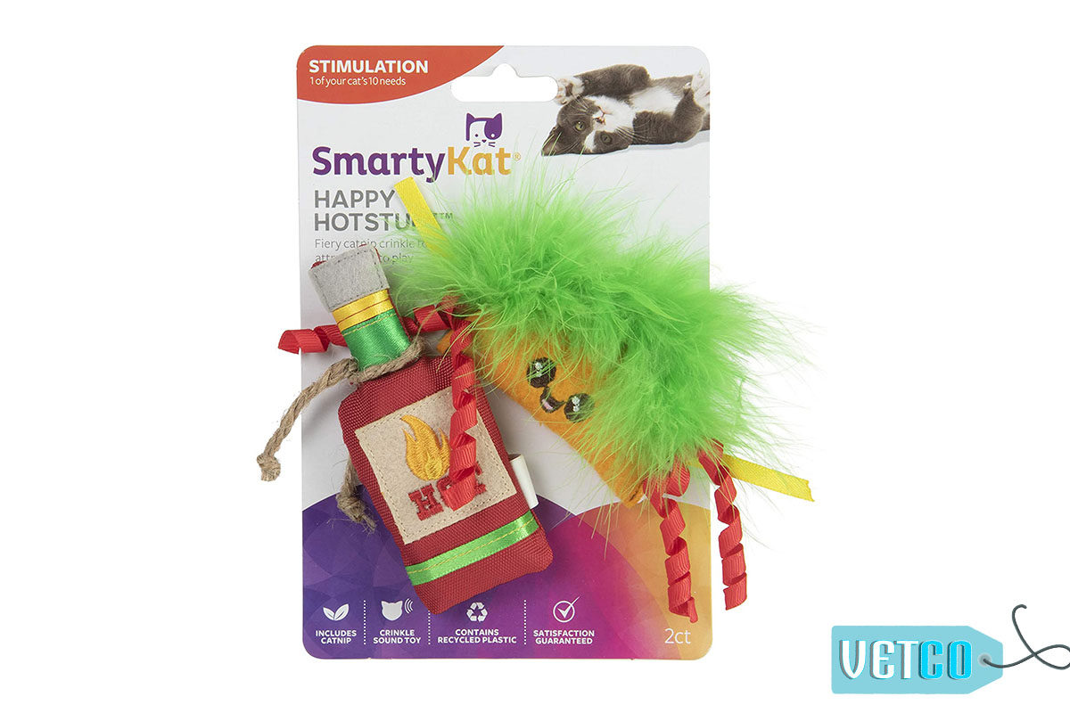 SmartyKat Happy Hotstuff Catnip Toys (Set of 2)