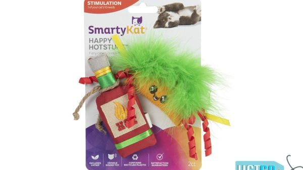 SmartyKat Happy Hotstuff Catnip Toys (Set of 2)