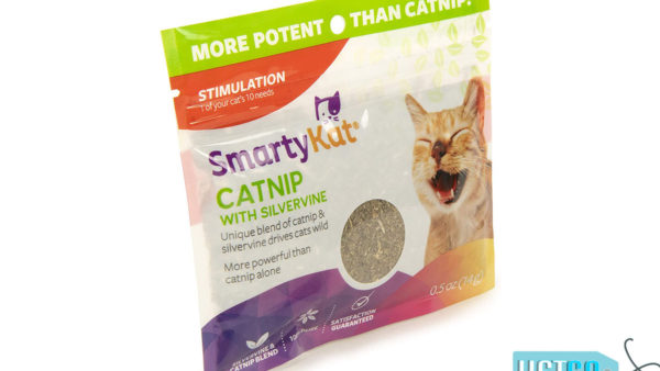 SmartyKat Silvervine & Catnip Pouch, 14 gms