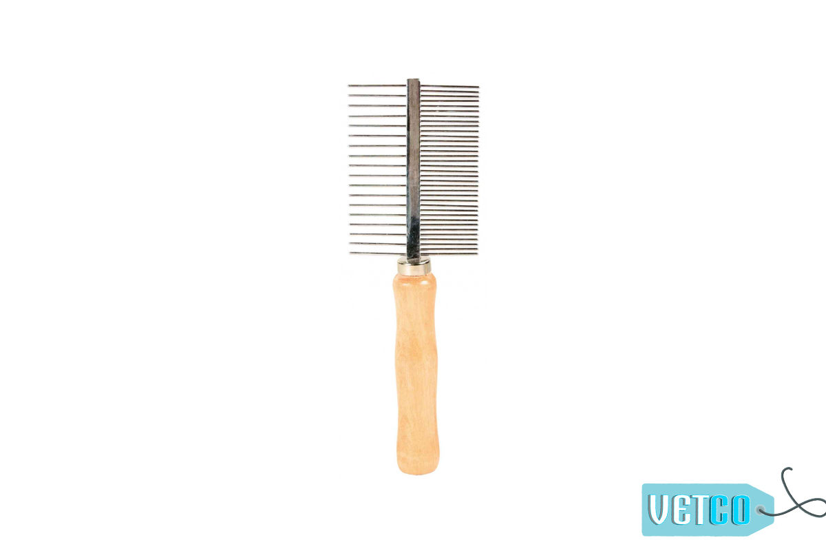 Trixie Double Sided Detangling Dog Comb