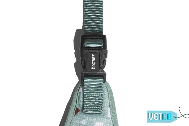 ZeeDog Terrazzo Green Air Mesh Plus Dog Harness2