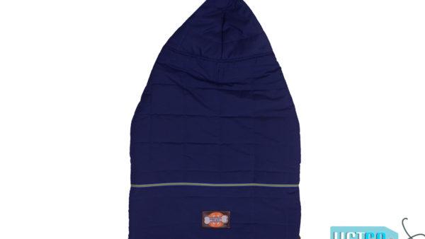Barks n Wags Blue Fur Hood Jacket