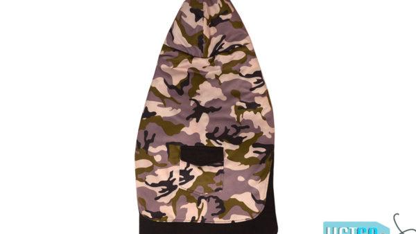 Barks n Wags Purple Camo Textured Hoodie