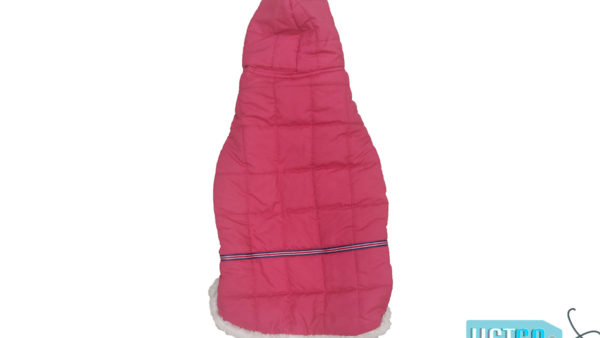 Barks n Wags Red Fur Hood Jacket