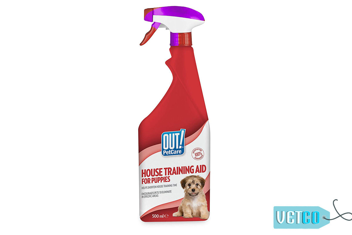 Out! Petcare House Training Aid for Puppies, 500 ml