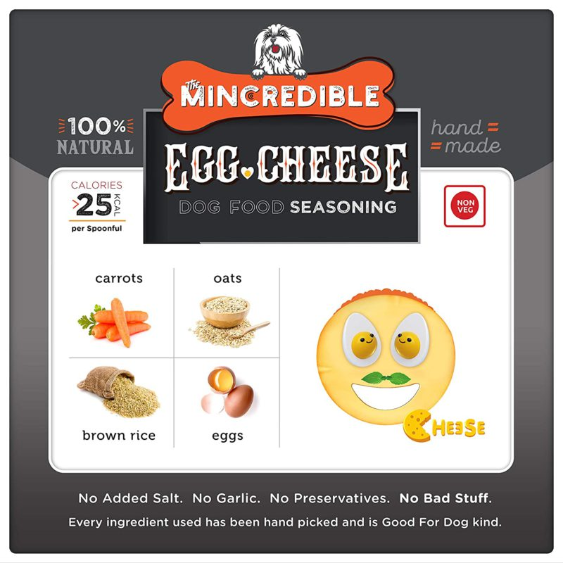 Mincredible Dog Food Seasoning & Topper - Eggitarian