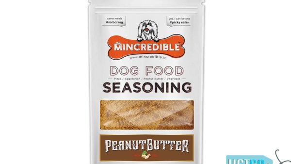 Mincredible Dog Food Seasoning & Topper – Peanut butter