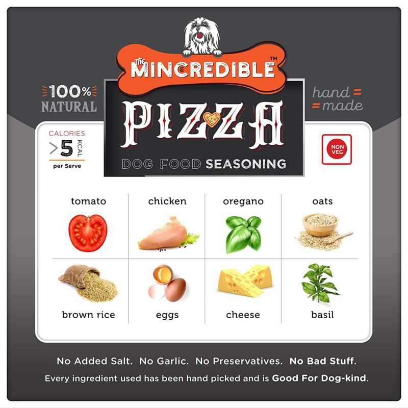 Mincredible Dog Food Seasoning & Topper - Pizza