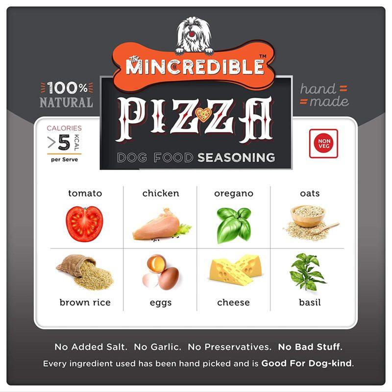 Mincredible Dog Food Seasoning & Topper - Pizza