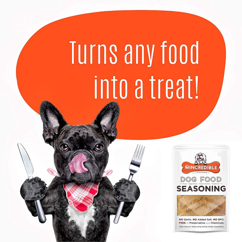 Mincredible Dog Food Seasoning & Topper
