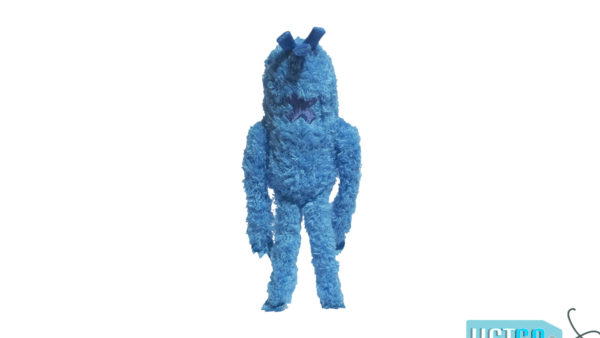 Zee.Dog Monsterz Blu Plush Dog Toy