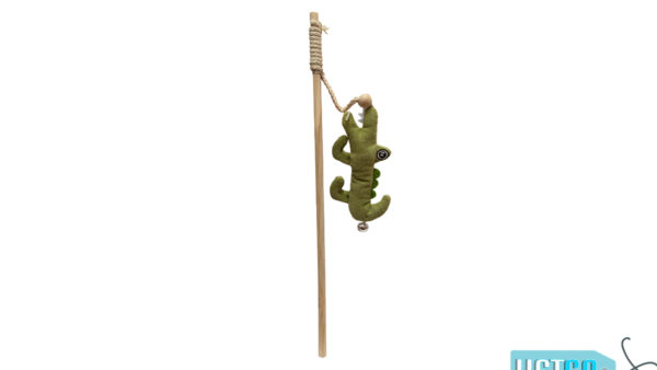 FOFOS Crocodile Wand Catnip Cat Toy