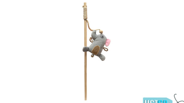 FOFOS Elephant Wand Catnip Cat Toy