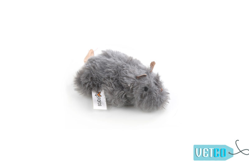 FOFOS Interactive Grey Mouse Catnip Cat Toy