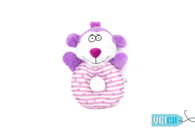 FOFOS Monkey Puppy Ring Dog Toy