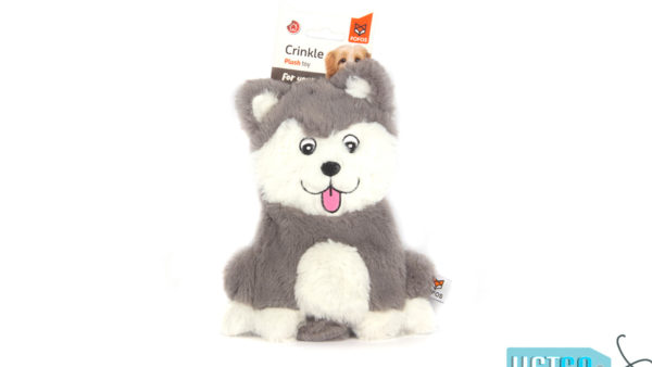 FOFOS Puppy Home Fluffy Husky Stuffing Free Dog Toy