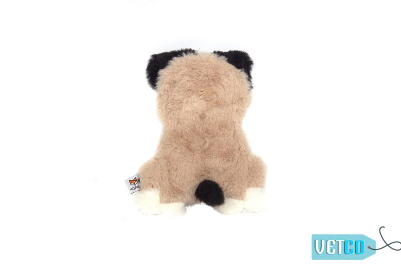 FOFOS Puppy Home Fluffy Pug Stuffing Free Dog Toy 1