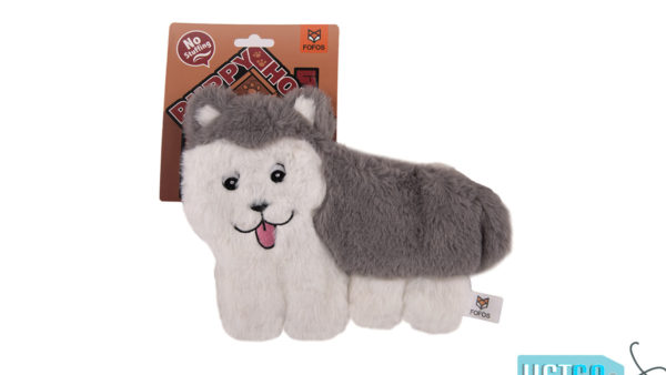 FOFOS Puppy Home Husky Stuffing Free Dog Toy