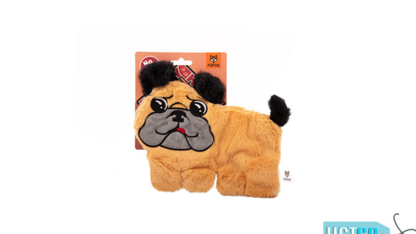 FOFOS Puppy Home Pug Stuffing Free Dog Toy