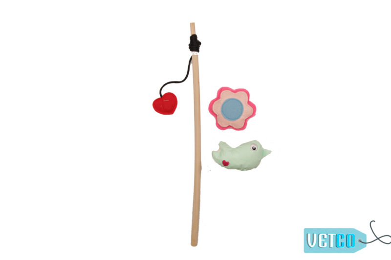 FOFOS Garden-life Magnetic Teaser Wand Cat Toy