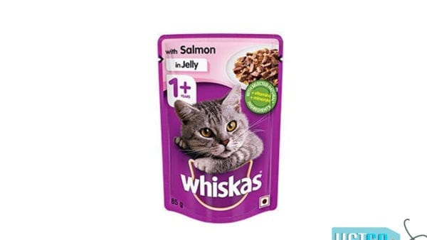 Whiskas Wet Meal Salmon in Jelly for Adult Cats
