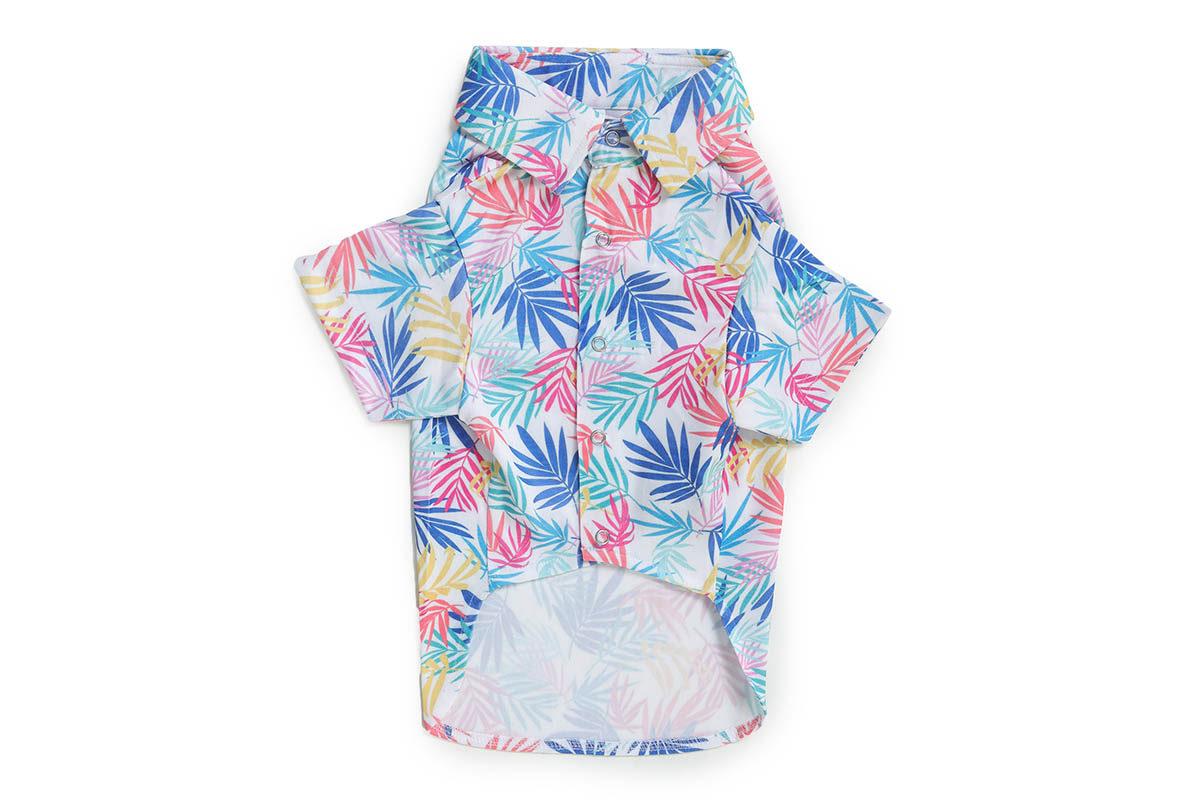 Barks & Wags Hawaiian Printed Dog Shirt